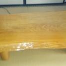天然一枚天板のテーブル