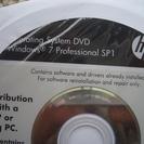 未開封のwindows7 Pro sp1 32bitインストールディスク