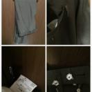 【タケオキクチ】(日本製)スーツジャケット(傷無し)、ズボンのみ破れ有 − 東京都