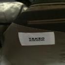 【タケオキクチ】(日本製)スーツジャケット(傷無し)、ズボンのみ破れ有 - 墨田区