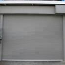 ガレージ付倉庫/電動シャッターの画像