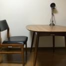 カリモク60 Dテーブル 美品‼️