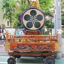【山車】こども山車 中古 東京浅草岡田屋制作 総手作り品 太鼓