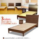 シングルベッド1台 マットレス付き 半年使用 同じものを2台つなげ...