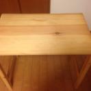 無印良品 パイン材 折りたたみテーブル − 東京都