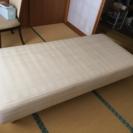 2年程使用のマットレスベッドです