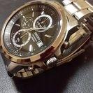 腕時計seiko クロノグラフ