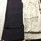 箪笥にあったしつけ付きの紬の着物&襦袢と昭和?レトロな帯と帯締め