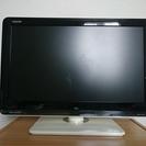 SHARP製AQUOS19型テレビ(フレームカラー:ホワイト)