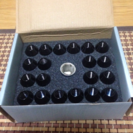 アルミホイールナット新品未使用12×1.25p