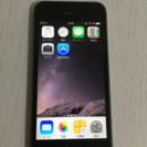 iPhone5s 32GB スペースグレイ docomo版
