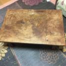 貴重 レトロ 一枚板 折り畳み座卓
