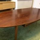 木目調のニトリのローテーブル