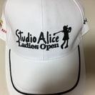 スタジオアリス 女子プロゴルフ来場記念品 キャップ