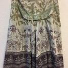 ヒューマンウーマン 夏用フレアースカート Mサイズ 丈59センチ