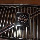 volvo240 純正メッキ グリル 美品 ボルボ240