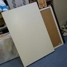 あげます☆リビングテーブル 美品 IKEA製 ホワイト 脚付