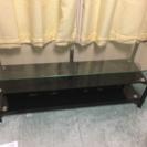 値下げしました。ガラス製テレビボード