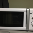 【セット】12年製電子レンジとテレビボード【値引きしました】