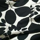 自宅保管品未使用 北欧風カーテン二枚