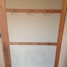 【大至急の引取限定特価】木製の壁掛けラック ネジ固定式 セット・単...