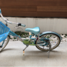 パナソニック 20インチ レインボーガールズ 子供用自転車