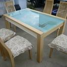 6人用 ダイニングセット 引取限定 食卓 テーブル 椅子