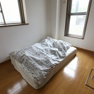 モデルルーム展示用ダブルベッド
