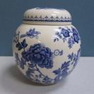 【MASON'S】メイソンズ ◆茶葉入れ◆壺◆ポット◆英国製◆花柄...