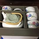 茶器と湯のみ5客set