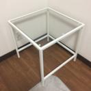 IKEA ガラステーブル 2016年購入 スクエア型