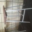 バーカウンターの椅子(5脚)差し上げます。