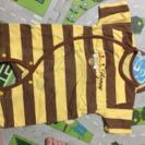 ハチの半袖ロンパース