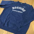 能代工業高校バスケットボール部 練習用トレーナー