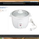 ライフフィット炊飯器2合炊き