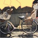 子供乗せギア付き自転車