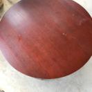 ニトリの丸いテーブル