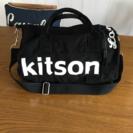kitson筒型ミニボストンバッグ