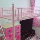 階段付き☆ロフトベッド