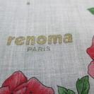 (I-927) ハンカチ renoma PARIS 3品売 ピンク...