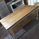 ハンドメイドローテーブル