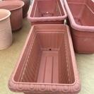 プラスチック製プランター3&植木鉢3🌱6個セット