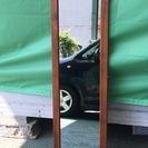 木枠 姿見 鏡 ミラー