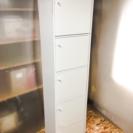 扉付き5段カラーボックス LC061401