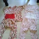 半袖パジャマ2つセット