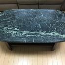 大理石ローテーブルです。