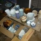 昭和の食器(未使用は少ない・たち吉などは3枚ぐらい)