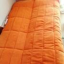 ソファーベッド*オレンジ*