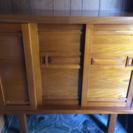木製の下駄箱  古いですが、良い品です。