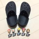 ★クロックス★ シビッツ付 18.5㎝